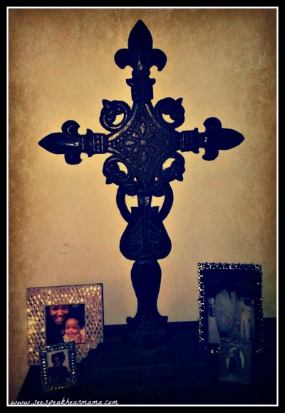 a cross in my home